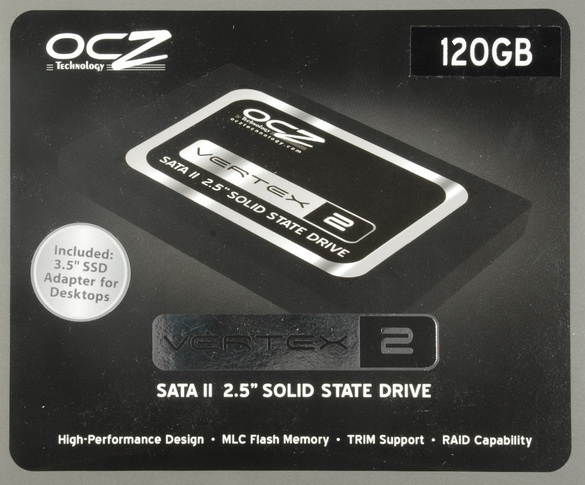 OCZ Vertex 2 (E series, VTX2E120G, 120 GB)